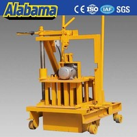 manufacturer direct manual interlocking concrete block making machine in bangladesh