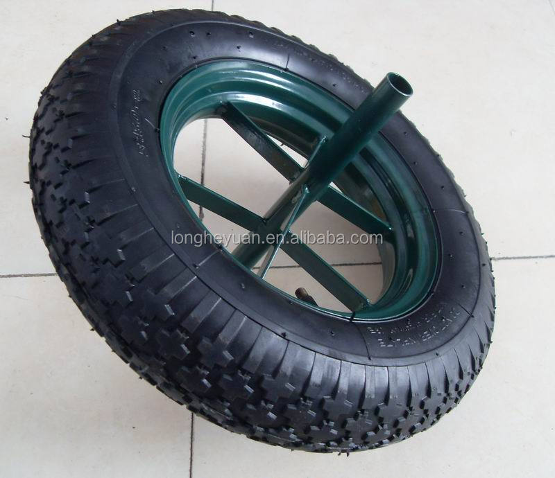 wheelbarrow tire 3.50-8 wheels