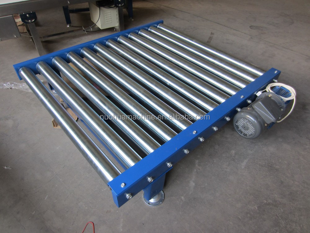 chain drived heavy duty zinc steel roller carrier manufacturing conveyor systems