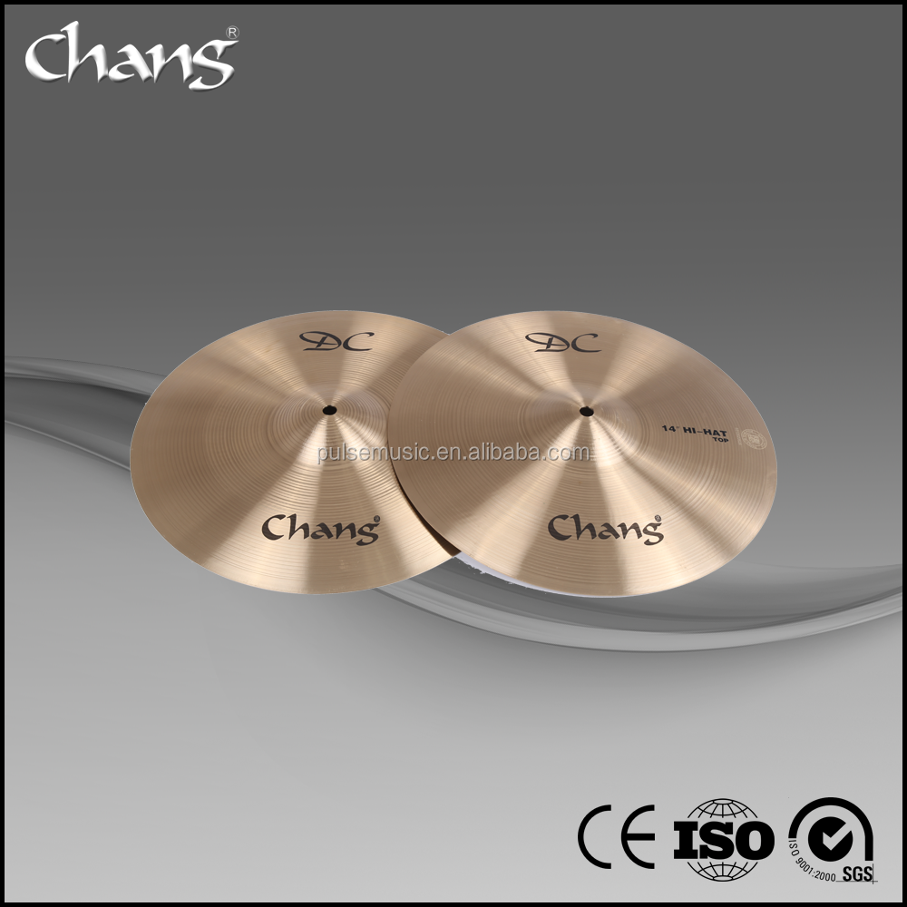 CHANG DC bronze cymbals set for drum set