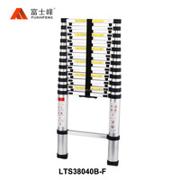 Aluminum step Ladder telescopic ladder 5 meter with finger protection made in China