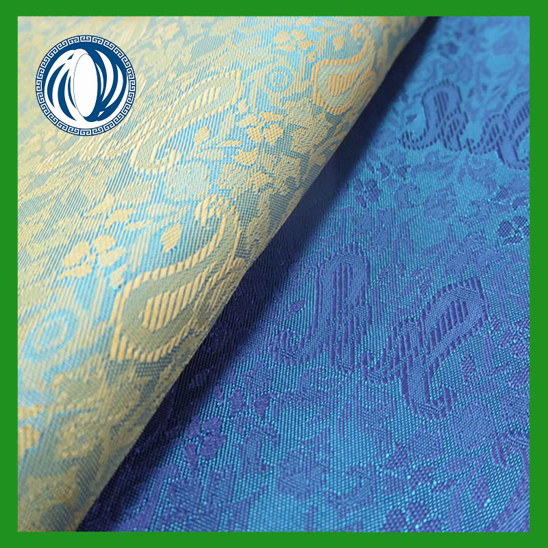 jacquard cationic polyester fabric for jacket ling from manufacturer china shaoxing