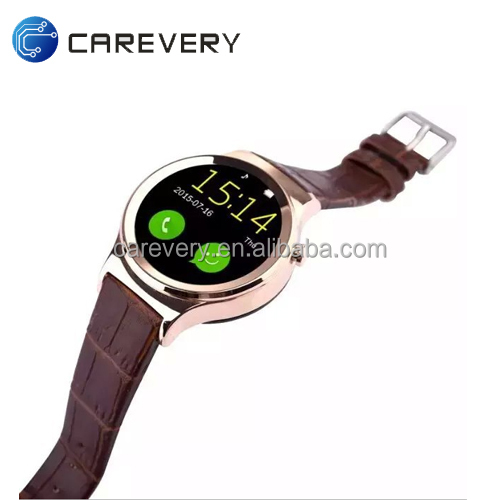 Touch screen gsm smart phone watch with IPS touch screen 2017 new style watch