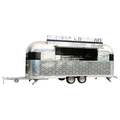 big wheels outdoor food scooter/hospital food cart/mobile food van