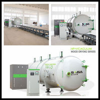 3CBM High Frequency Kiln Drying For Hardwood Lumber Offerer By Saga