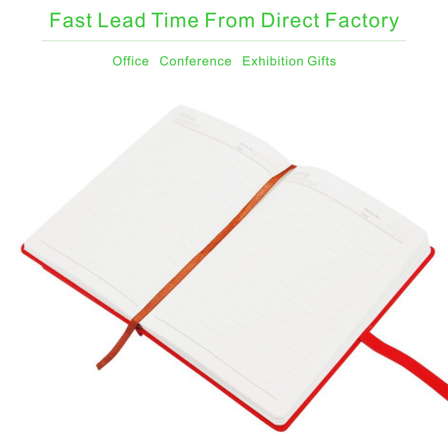 Creative promotion gifts A5 colour edge soft leather notebook