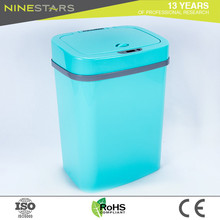 Wholesale automatic no touch red kitchen garbage can