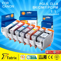 cheapest price, new ink Cartridge For Canon PGI-5 Cli 8