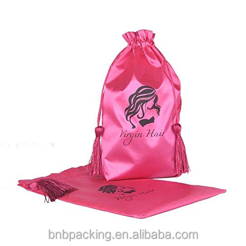 China Hair Packaging Companies Wholesale Hair Weave Pacgaging Bags Pink with Cheap Price