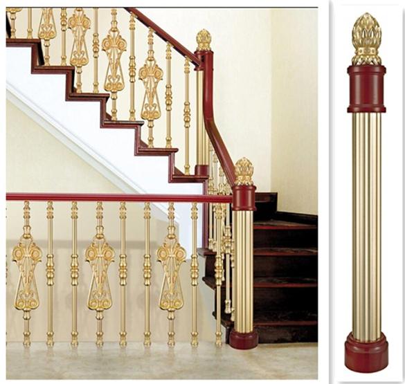 Indoor Pillars xyj014 indoor aluminum balcony pillars - buy balcony pillars