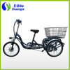 250w 350w 500w 3 wheel 20 inch electric cargo trike