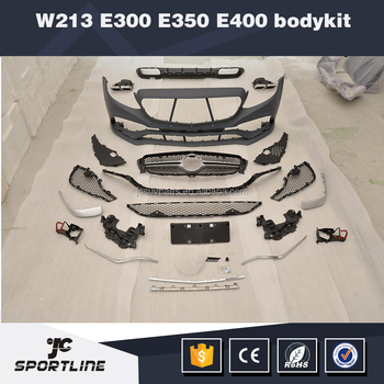E-Class W213 E63 Body Kits for Mercedes Ben z W213 E300 E350 E400 Sedan 2016 2017