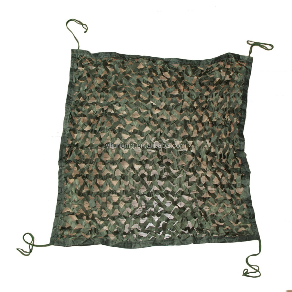 210D Green Pure Green Camouflage Netting Military Camo net Bird Watching Net