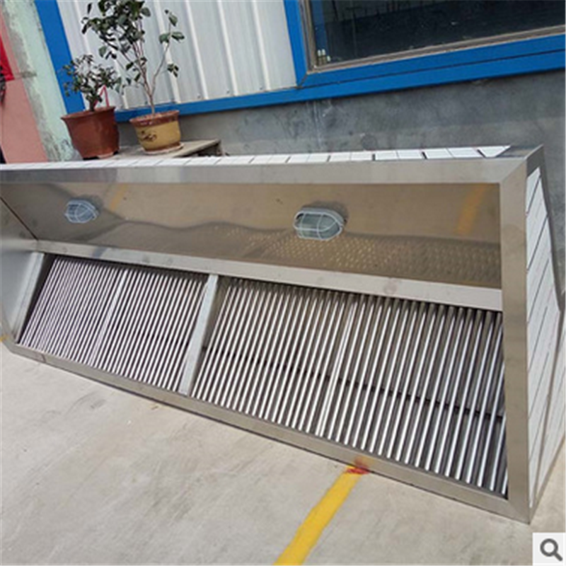 Heavy Duty Stainless Steel Kitchen Exhaust Chimney Hoods used Commercial Equipment Kitchen