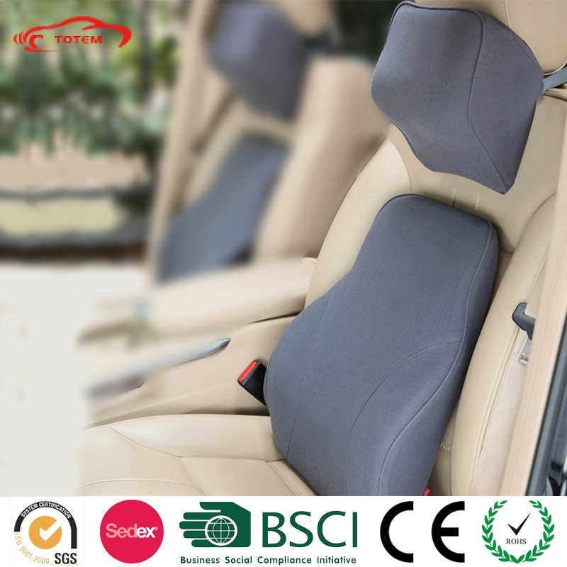 Ergonomic Design Automobile Car Accessories, Memory Foam Car Cushion Kit, Multi-color Car Neck Rest Pillow