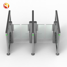 RFID smart speed gate turnstile for high level pedestrian channel access control