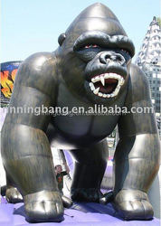 Inflatable Gorilla High-quality Customized inflatable model for advertising