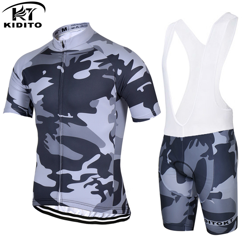 KIDITOKT Brand Cycling Jerseys Professional Manufacturer/Summer Bicycle Clothing/cycling wear Ropa Ciclismo set