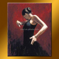 Hot Sell Handmade Women Hot Sex Image Oil Paintings oil painting factory