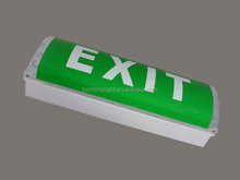 2x8w fluorescent tube emergency light with sticker made in china