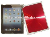 Plastic With Aluminum Back Hard Case For The New iPad 3