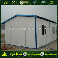 Lingshan Cheap Prefabricated House in Farm Land with ISO9001:2008