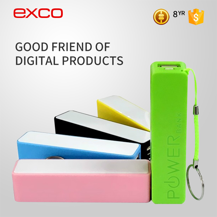 EXCO New electronic devices High quality universal portable power bank 2600mah for all mobile phones