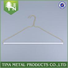 Chinese manufacturer eco-friendly colorful small dry cleaners wire hangers