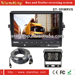 truck monitoring heavy duty reversing camera system