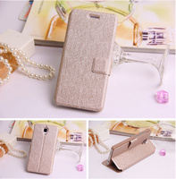 leather flip cover for xiaomi 3 phonecase ,waterproof shockproof dairy case