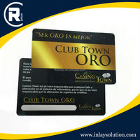 13.56MHz RFID plastic business smart card