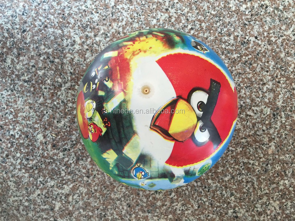 inflatable pvc beach ball 100g printed pvc toy ball