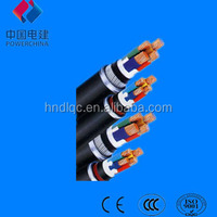ISO9001 Certificate Standard insulated electric power cable