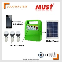 <Must ups >Factory Price DC 10W Off grid Portable Mini Solar Power System
