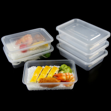 microwave transparent plastic takeaway bento lunch box