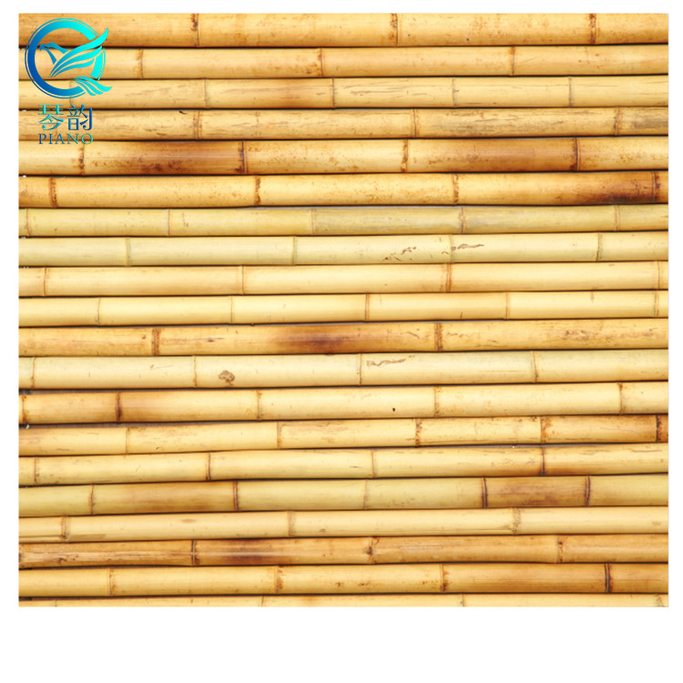 cheap white bamboo fence
