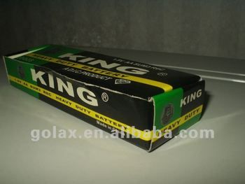 R20 D size carbon dry battery 1.5V SUM1 KING BRAND BATTERY
