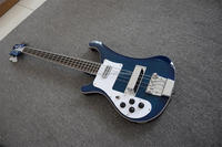 LEFT HAND rbk 4003 Blue 4 string bass guitar set-in neck High Quality
