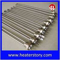 Electric Tube Flange Immersion Heater elements Heat Tube