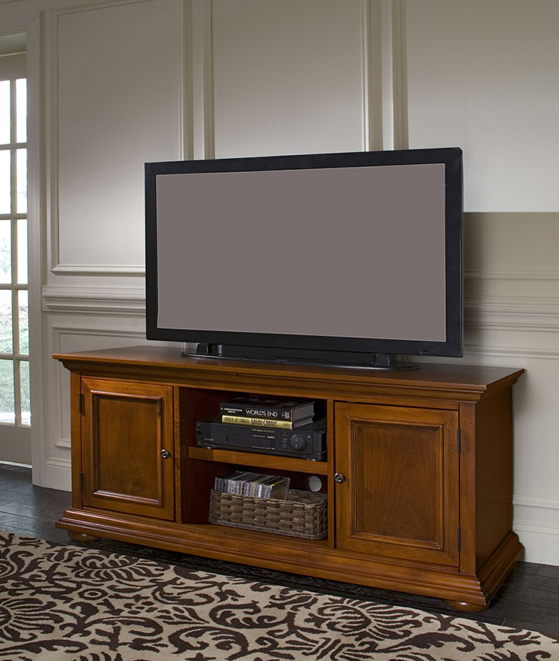 Poplar solid wood living room tv stand cabinet design / classical tv stand furniture