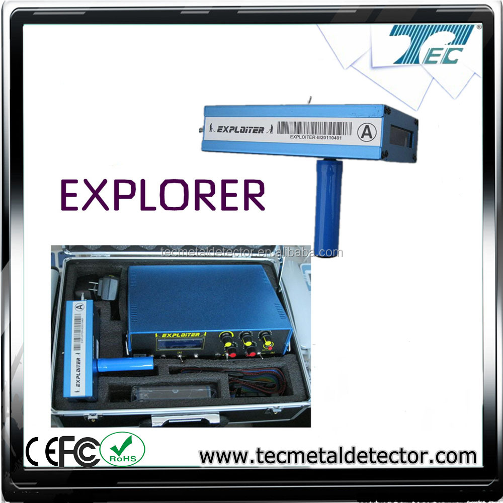 Mining Use Gold, Silver, Copper Ground Metal Detector With Perfect Performance