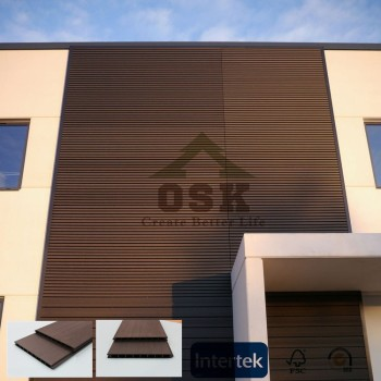 China Factory WPC Wall Cladding for Exterior Usage