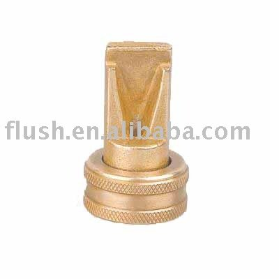 brass fan hose nozzle