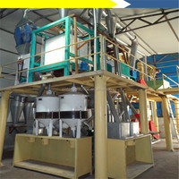 High quality 10-100TPD small scale wheat flour mill machinery with CE