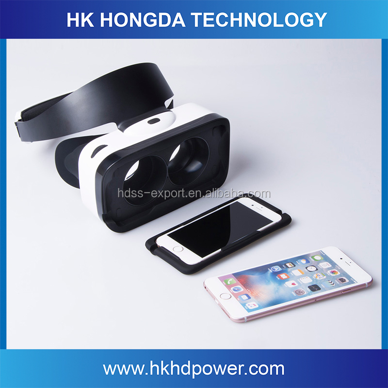 2016 best selling 3D VR glasses, virtual reality headset, mobile VR headset