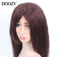 Highlight virgin remy human hair silk base full lace wigs for black women