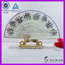 Custom Wooden Hand Fan Wood Carving Crafts