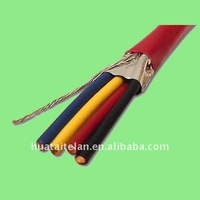 Fire alarm cable, silicone rubber insultated, low smoke halogen free PVC sheath