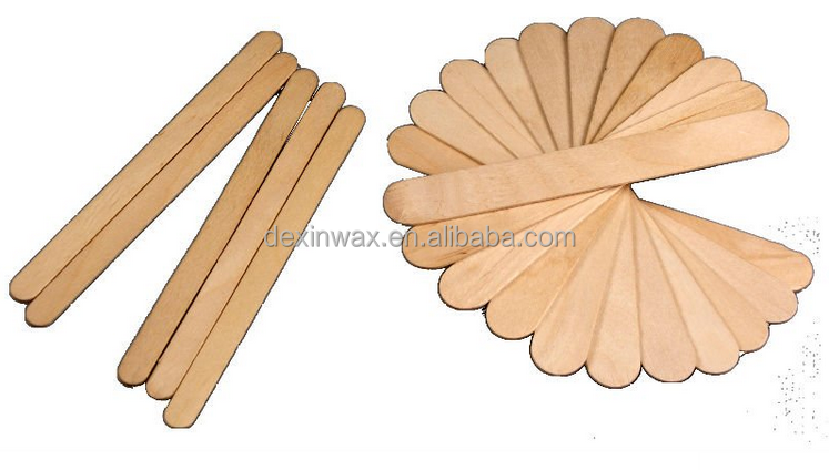 Pro Waxing Spatulas Wax Applicators for bikini eyebrow armpit waxing