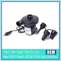 AC Electric pump for inflatable toys/boat/air bed/air sofa